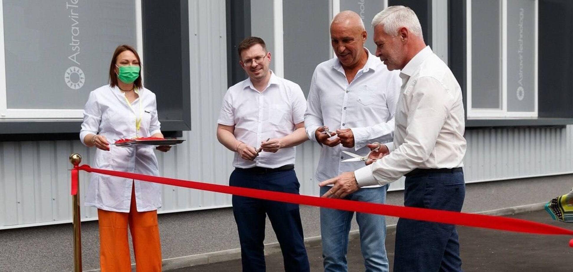 В Харькове торжественно открыли высокотехнологическое производство отечественных ПЦР-тестов