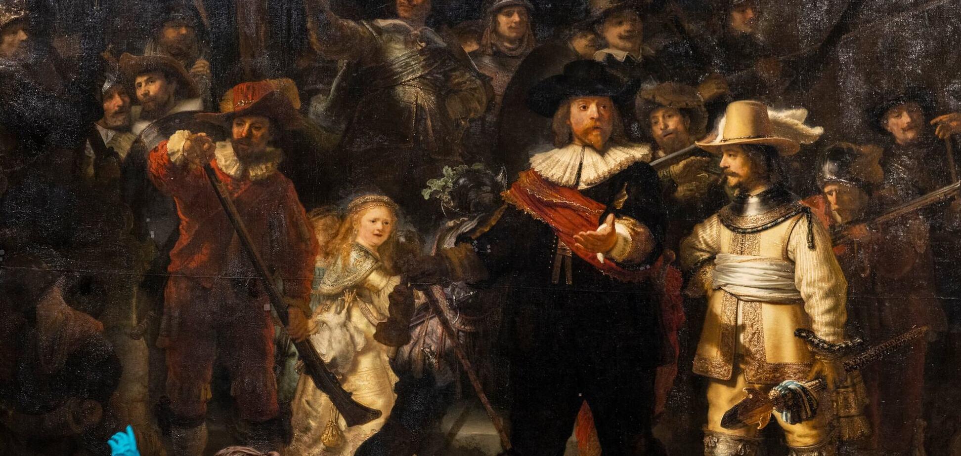 В Амстердамі відновили загублені фрагменти картини Рембрандта