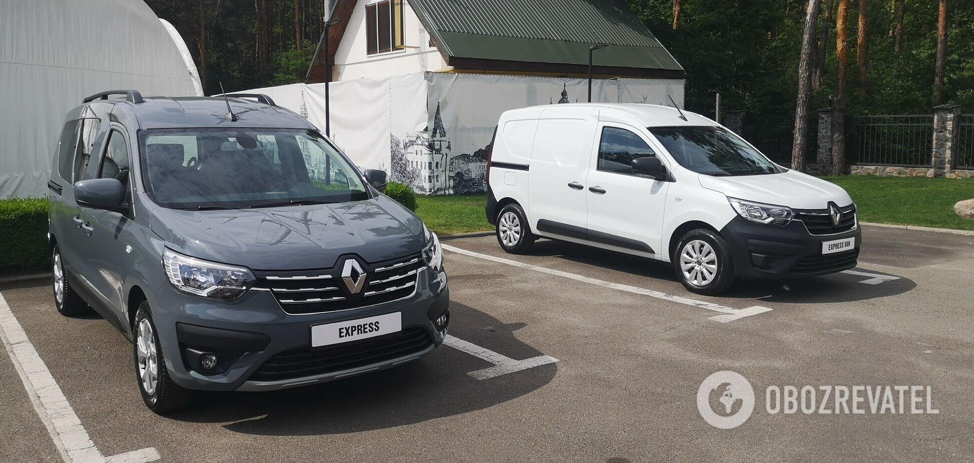 В Україні презентували новинки комерційного ряду Renault