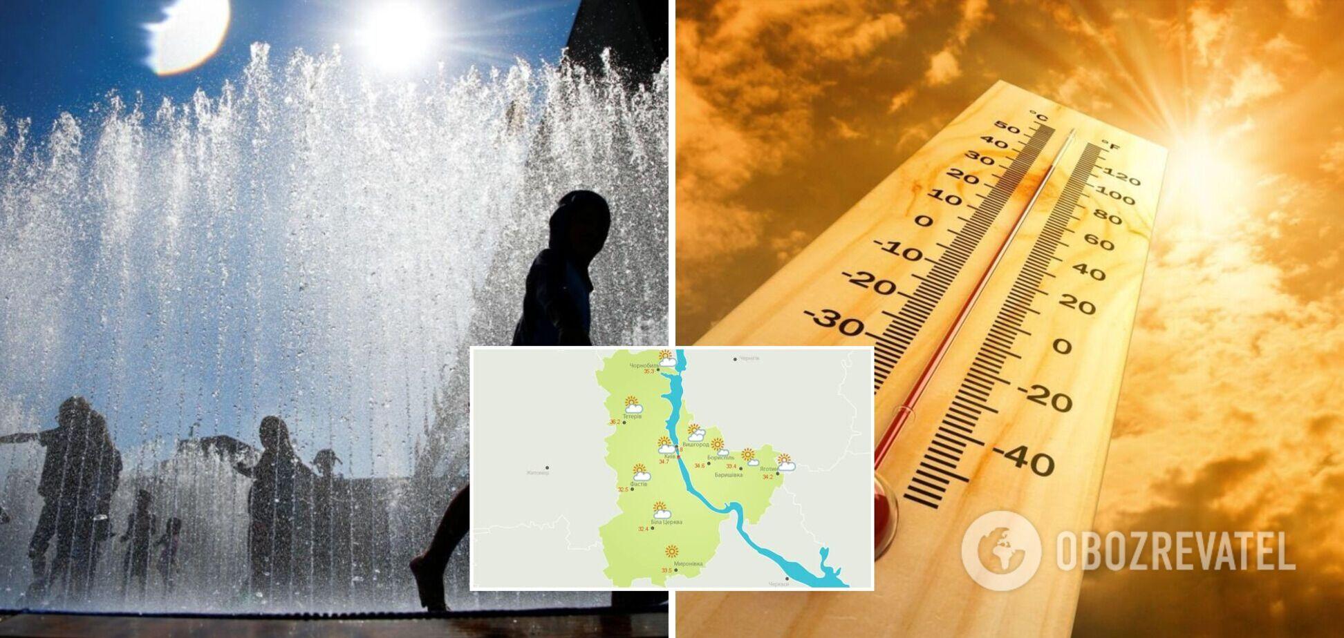 Жара в Украине достигла 37 градусов: синоптик назвала самый горячий регион. Карта