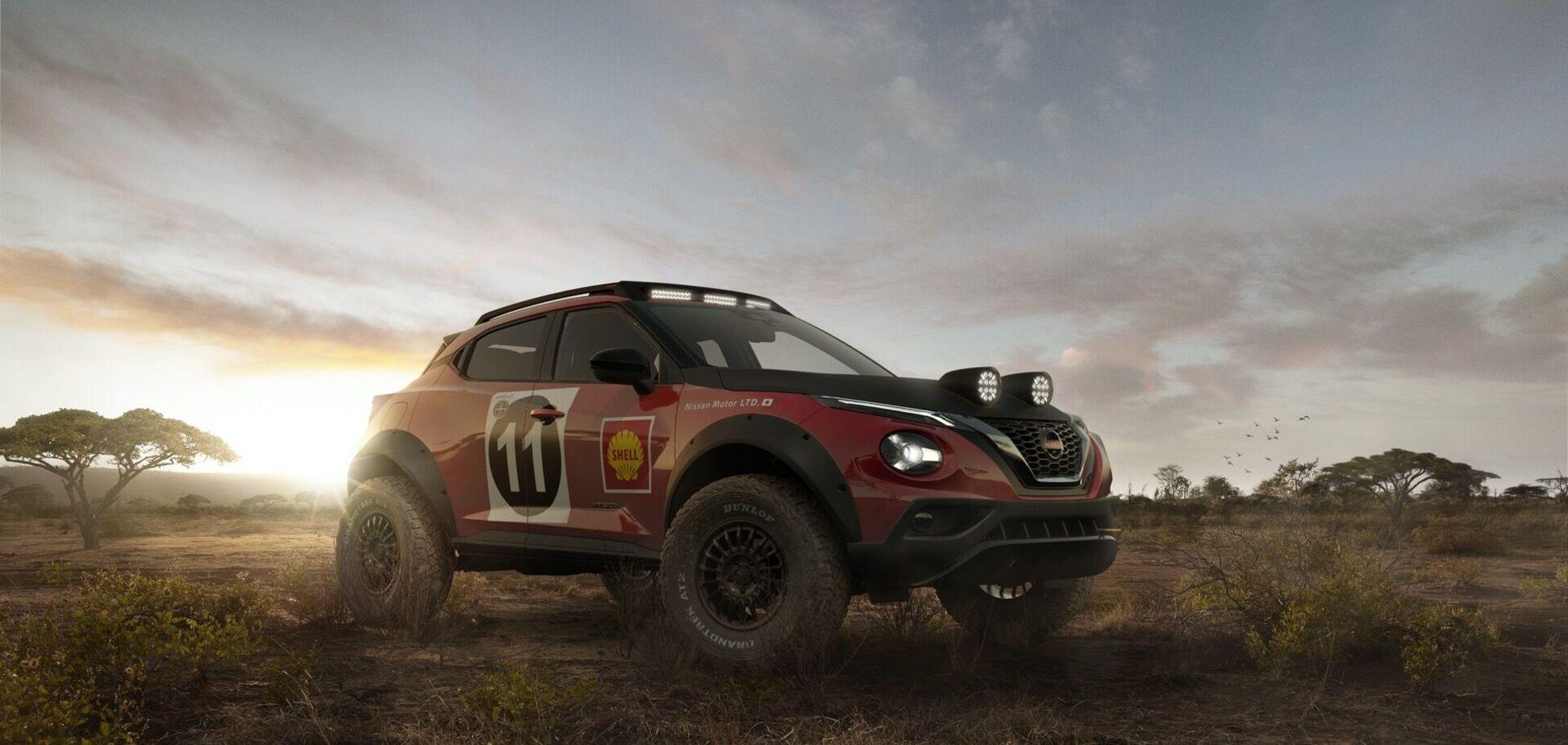 Nissan показав рендери ралійного Juke