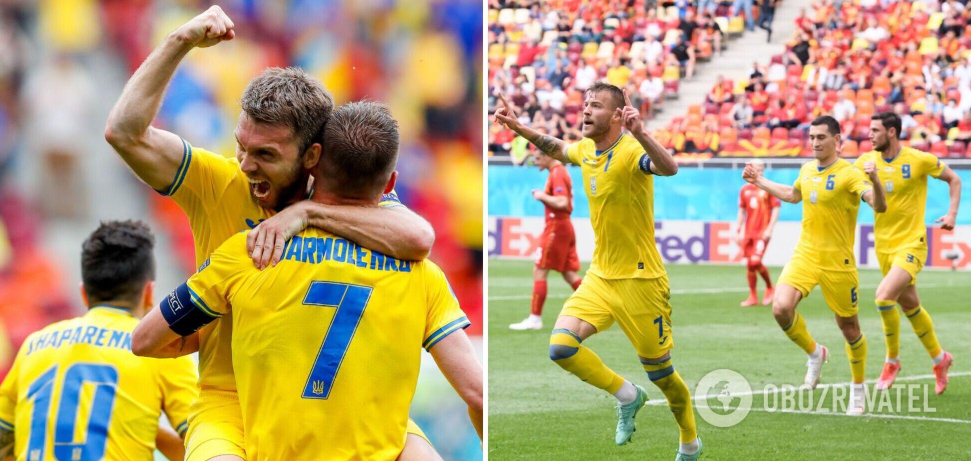 Украина попала в 1/8 финала Евро-2020, но не своими силами