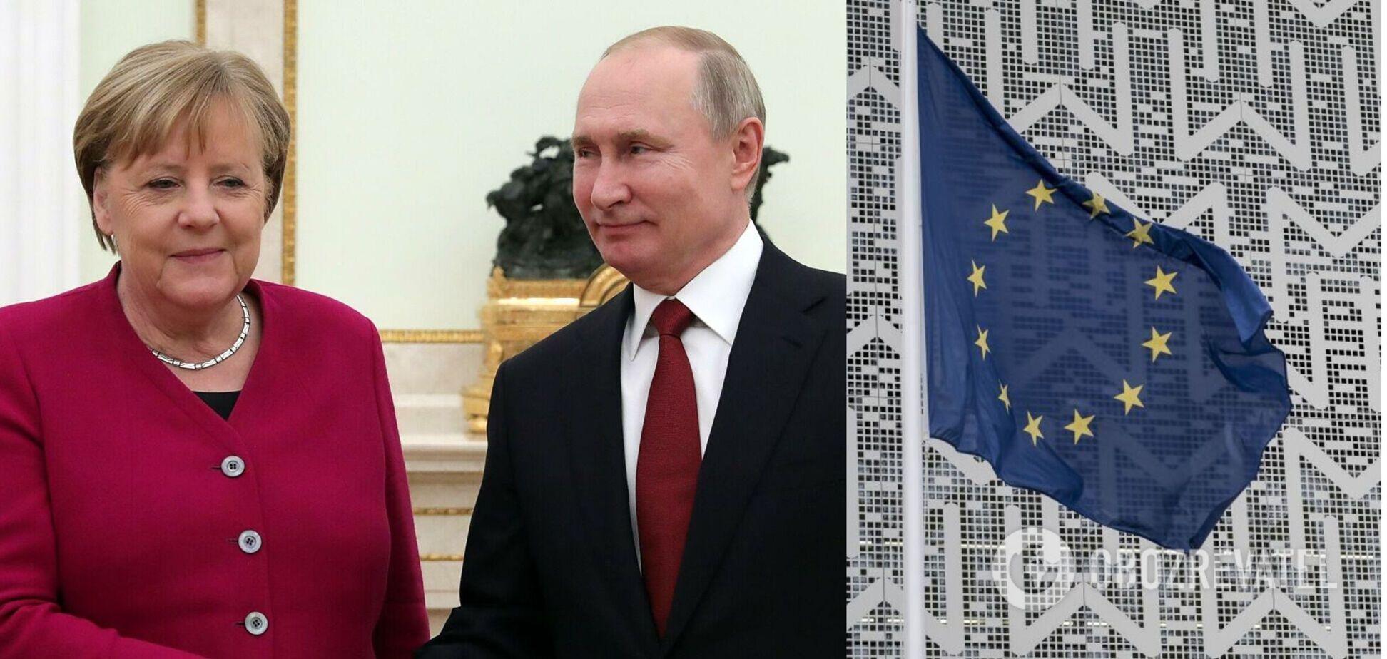 Лідери ЄС відмовилися провести саміт із Путіним: Меркель розповіла про 'непросту' дискусію
