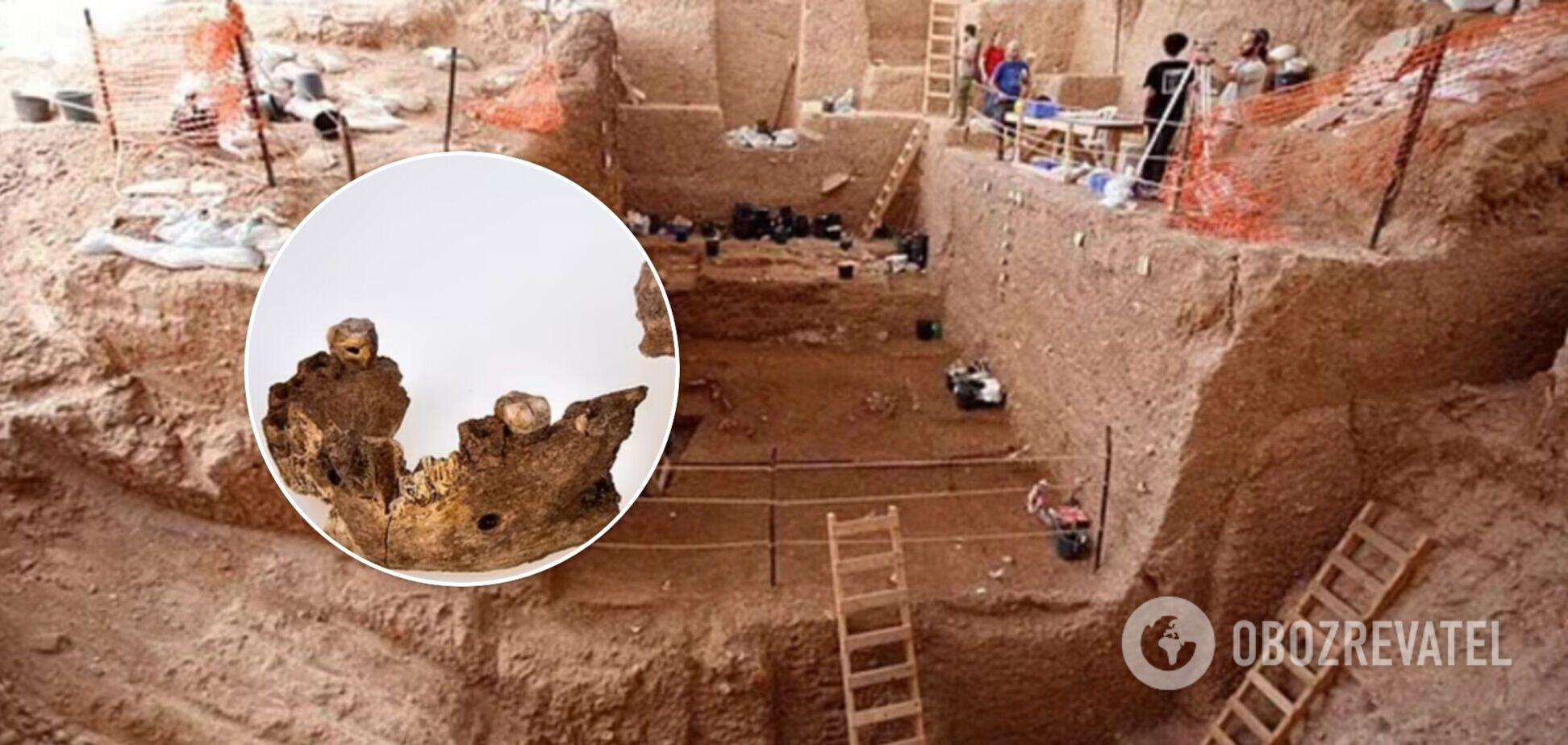 В Ізраїлі виявили останки невідомого раніше виду стародавньої людини. Фото