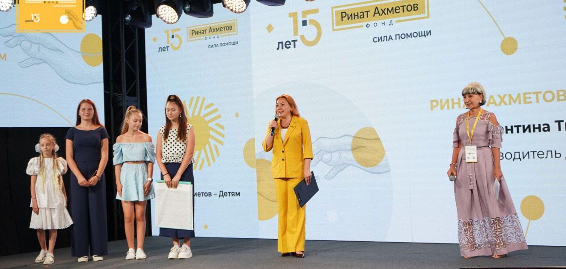 Фонд Рината Ахметова за 15 лет работы достиг значительных результатов