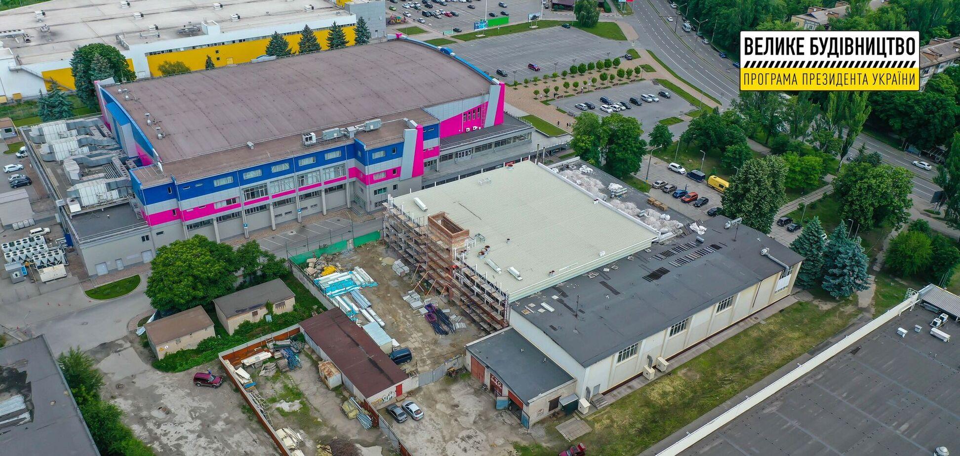 'Велике будівництво' Зеленського взялося за повну реконструкцію Школи вищої спортивної майстерності у Запоріжжі