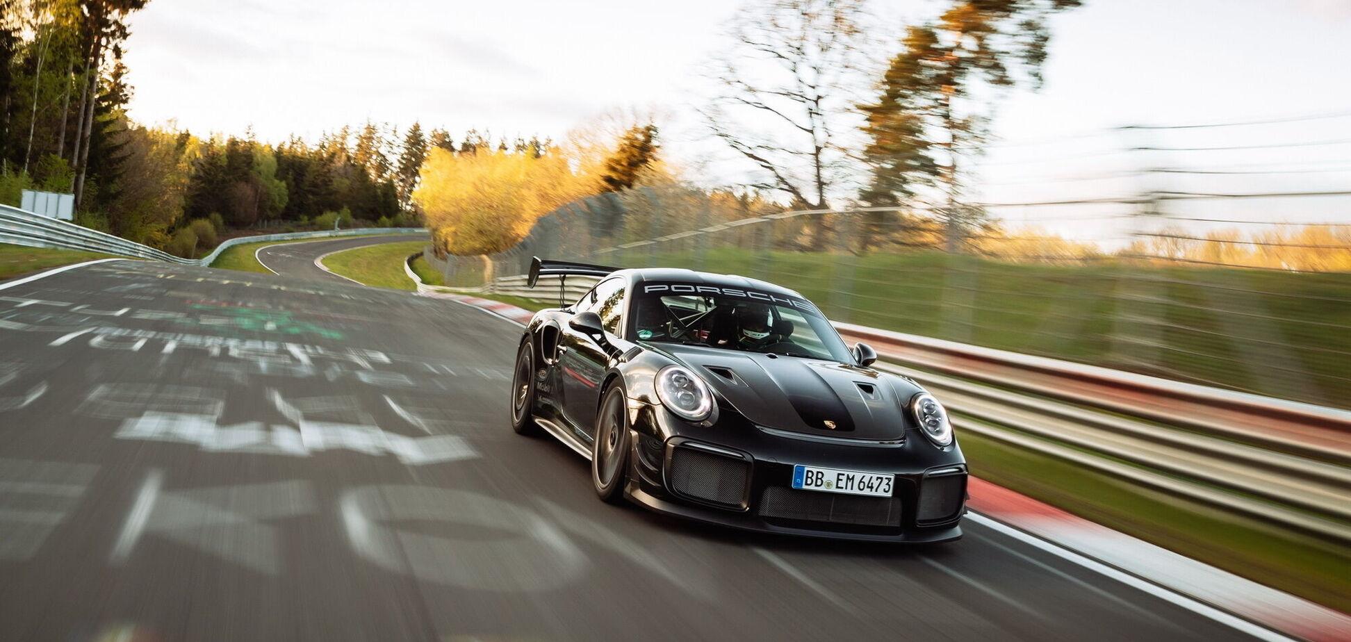 Porsche встановив новий рекорд Нюрбургринга. Відео