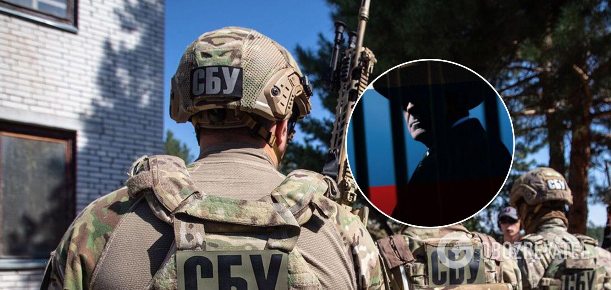 СБУ разоблачила шпиона спецслужб РФ на попытке вывезти военное оборудование