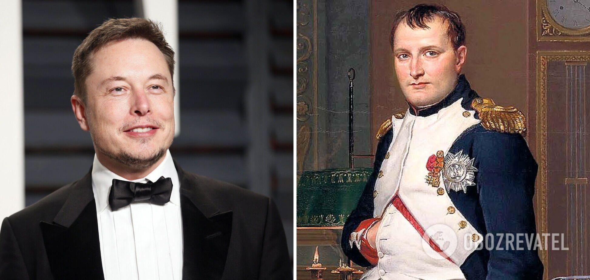 Ілон Маск пожартував про вторгнення Наполеона в Росію: час вирішує все