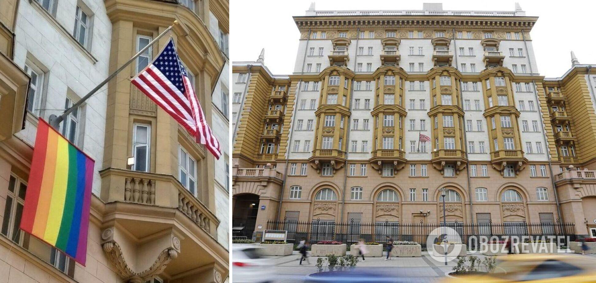 Американське посольство в Москві