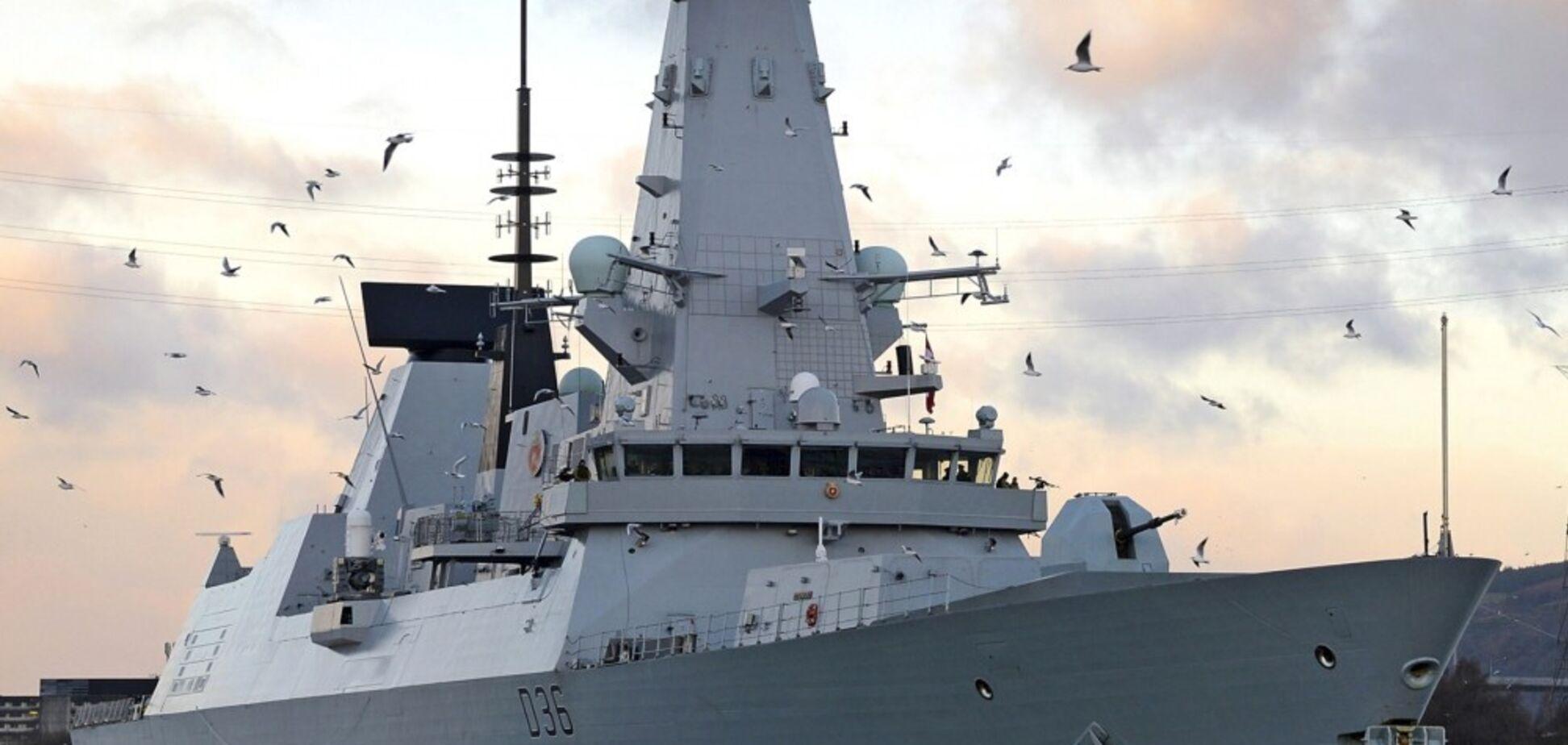 Россия получила пощечину от британского эсминца HMS Defender