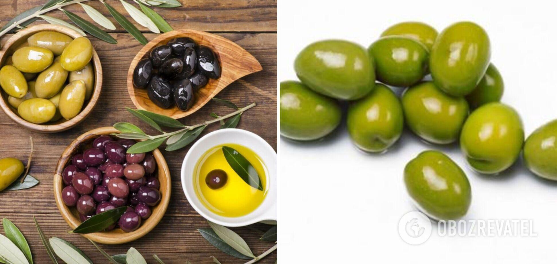Факти про оливках, які ви не знаєте