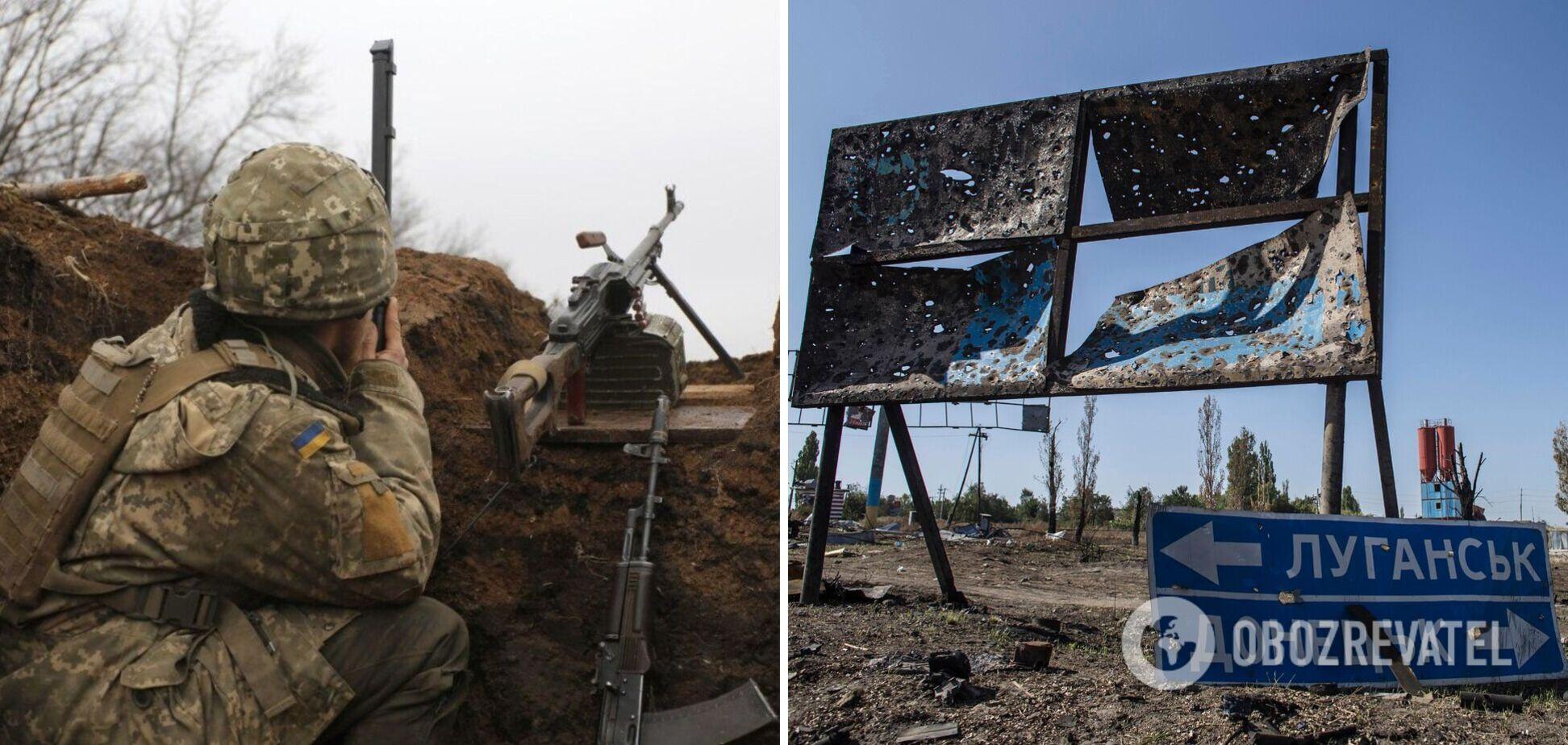 Оккупанты обстреляли ВСУ на Донбассе, украинские военные открыли огонь в ответ