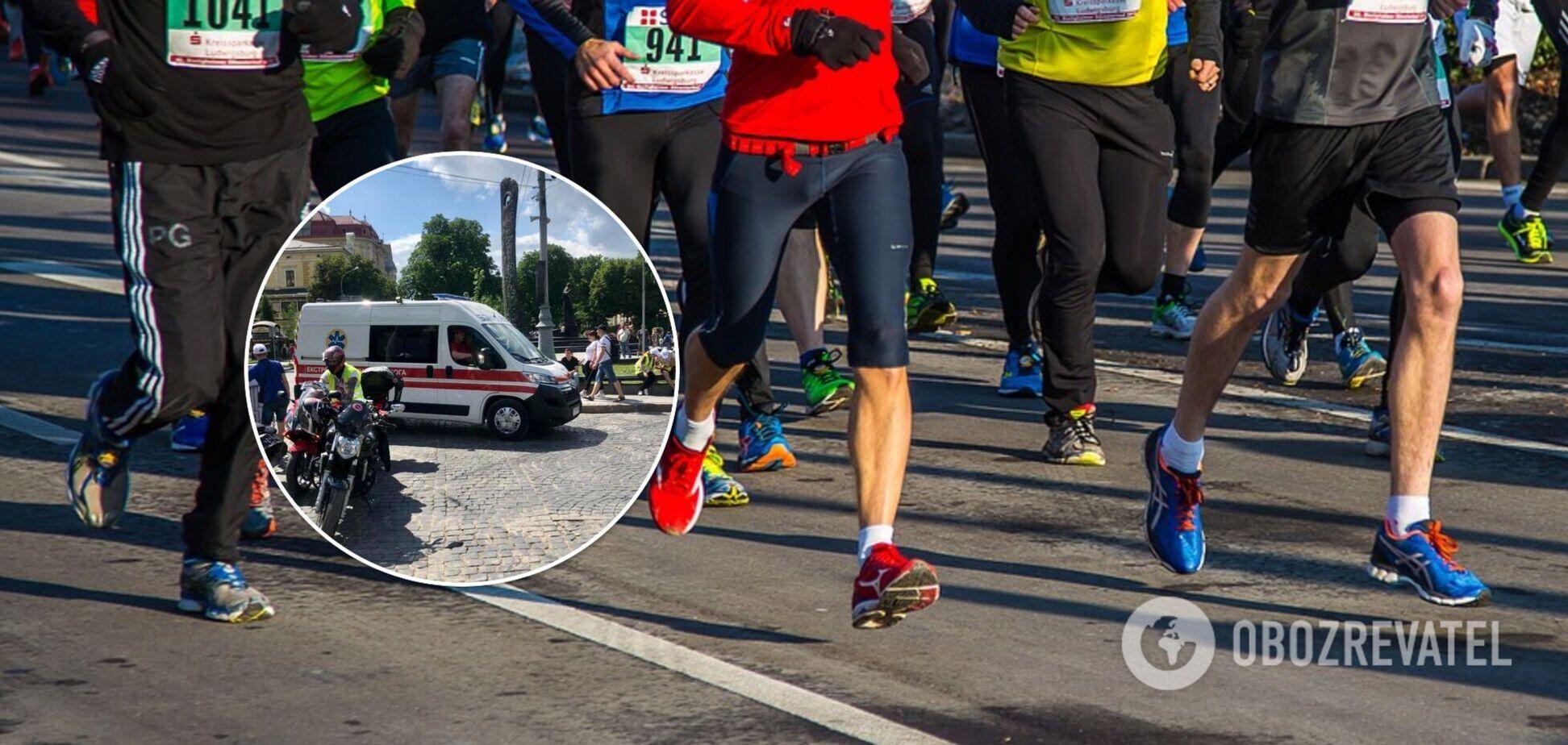 Во Львове во время марафона умер 23-летний парень, его пытались реанимировать больше часа