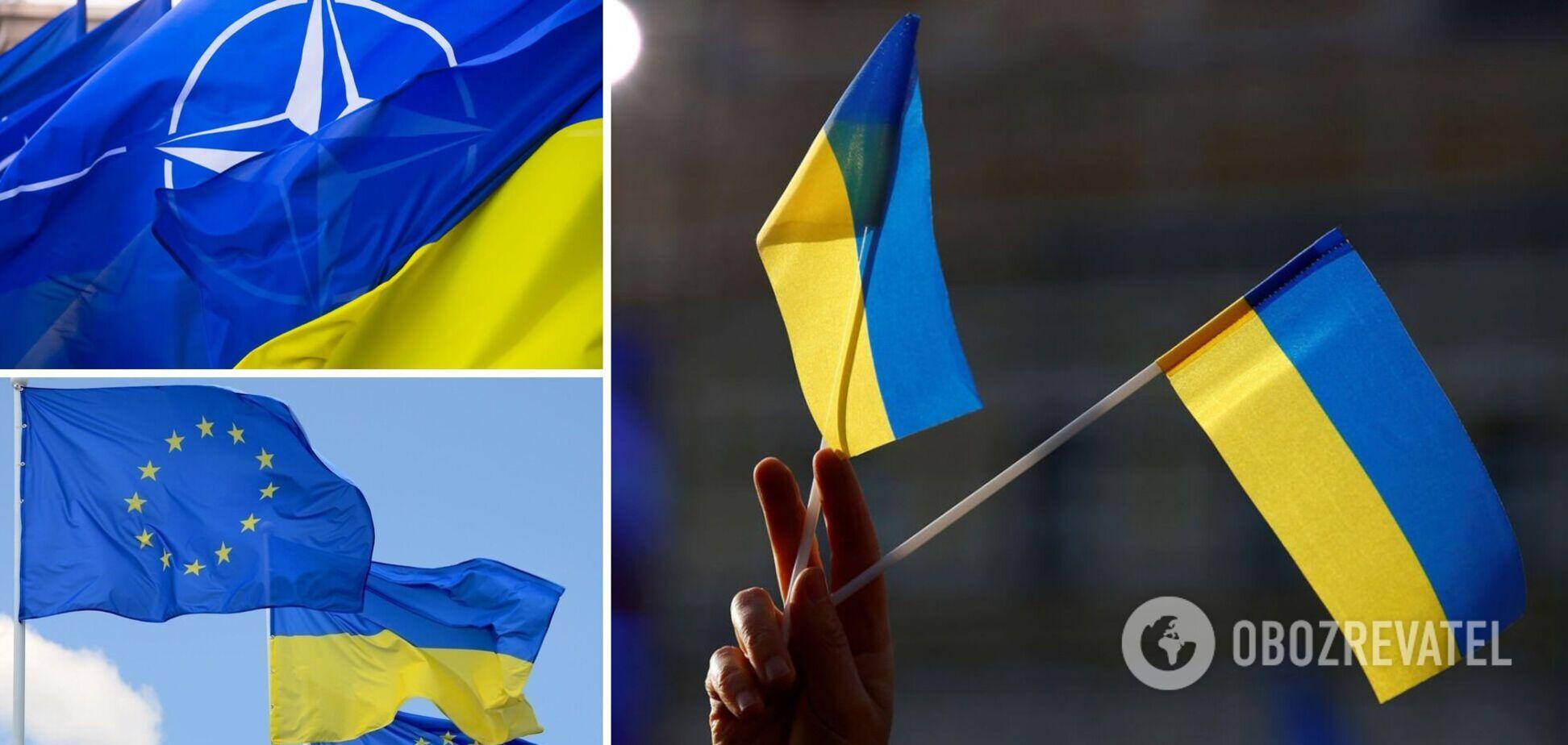 Стремление Украины в НАТО и ЕС