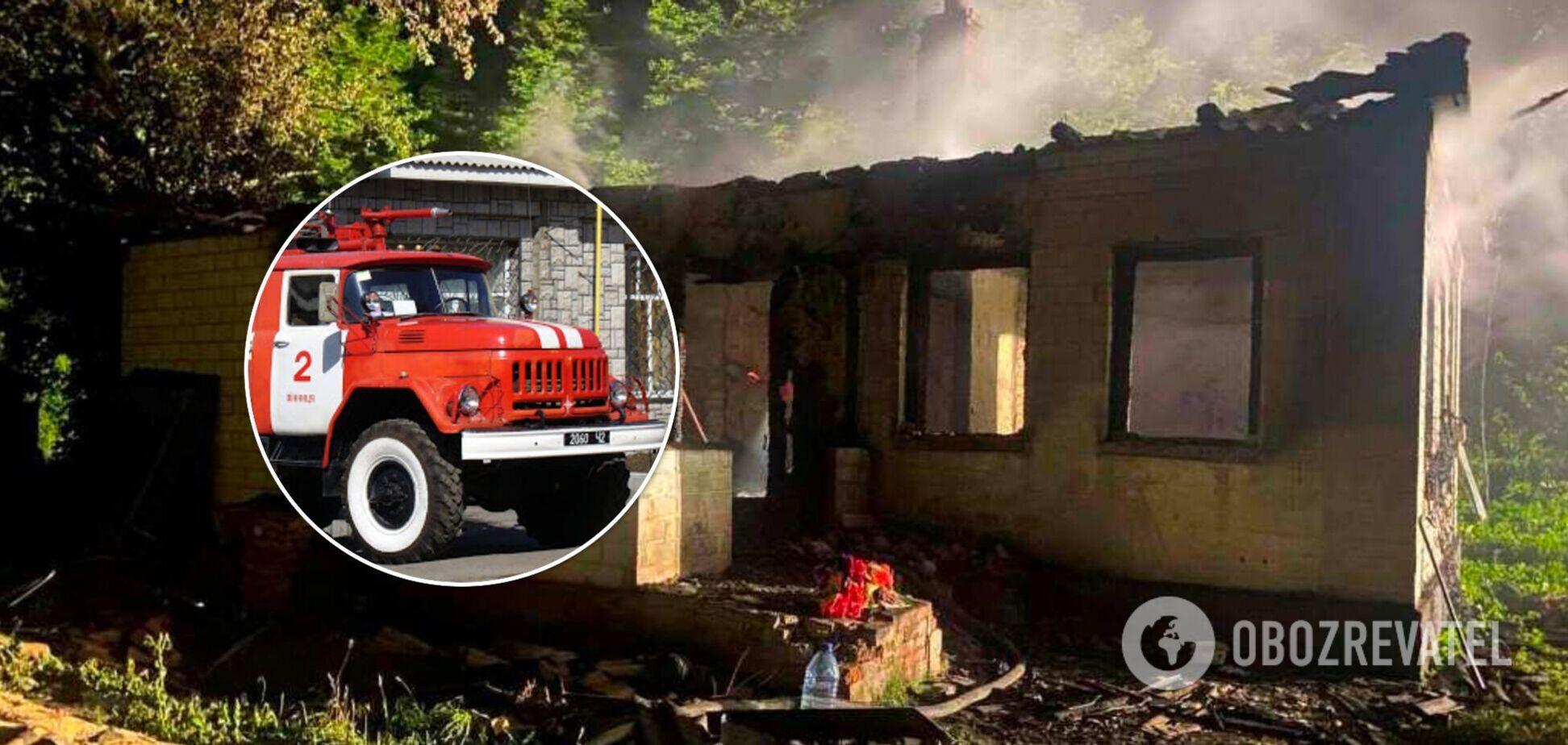 На Чернігівщині в пожежі загинуло молоде подружжя, у них залишилося двоє дітей. Фото