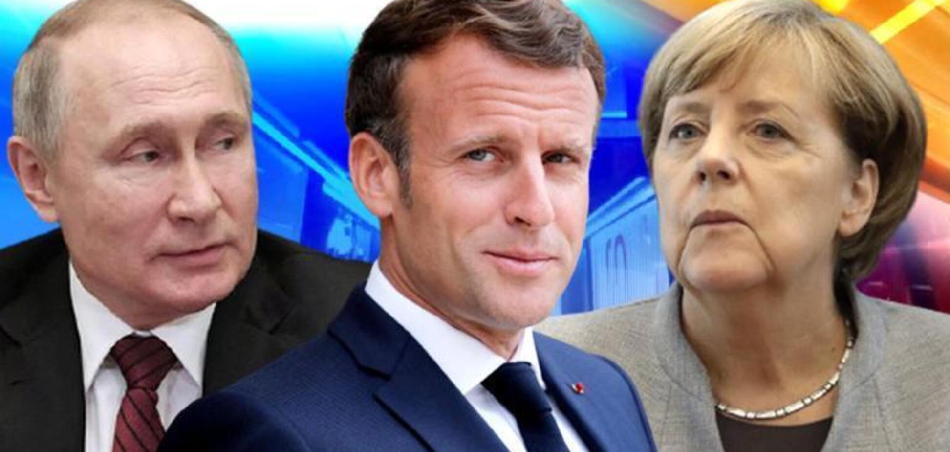 Меркель и Макрон не смогли легитимизировать диктатора Путина