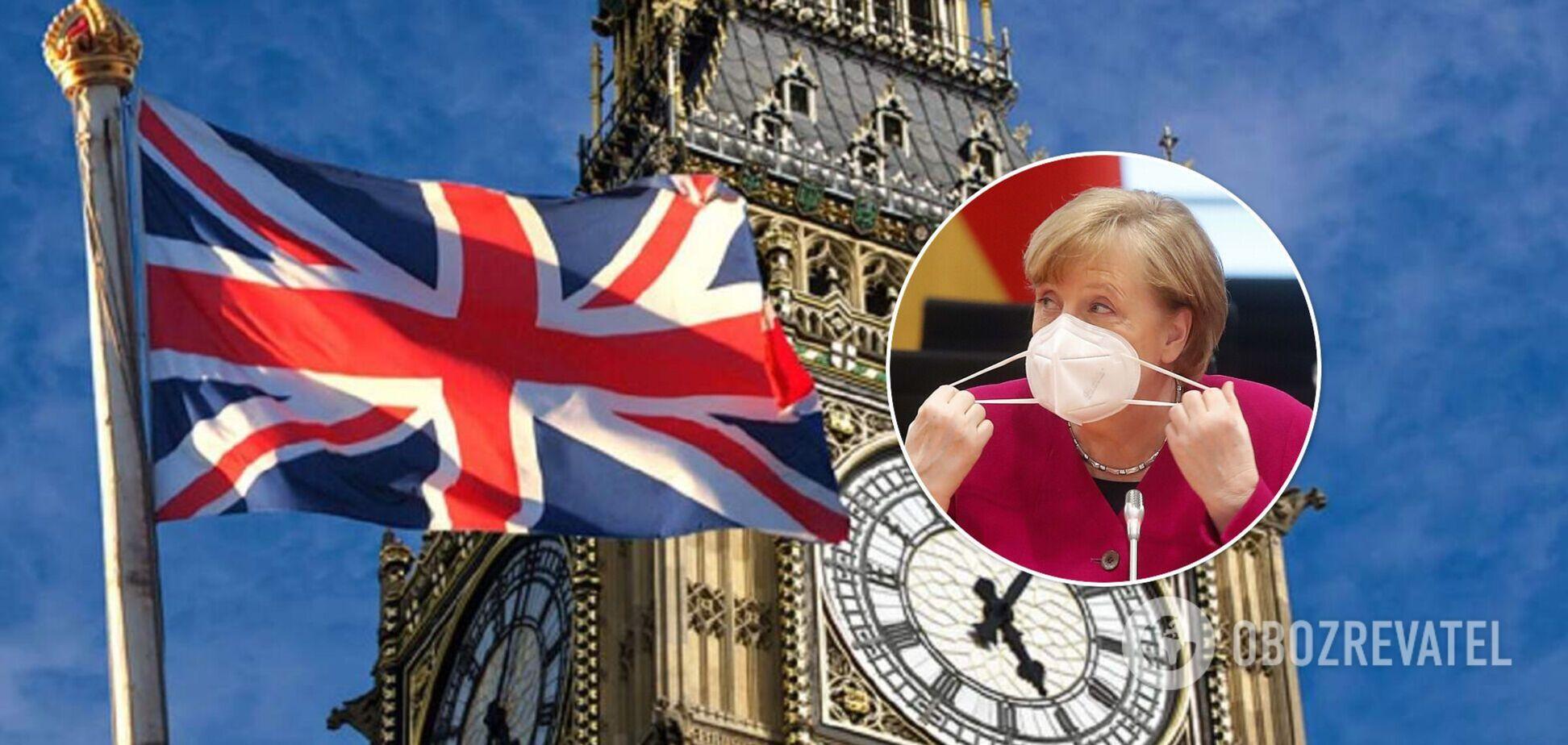 Меркель и Британия