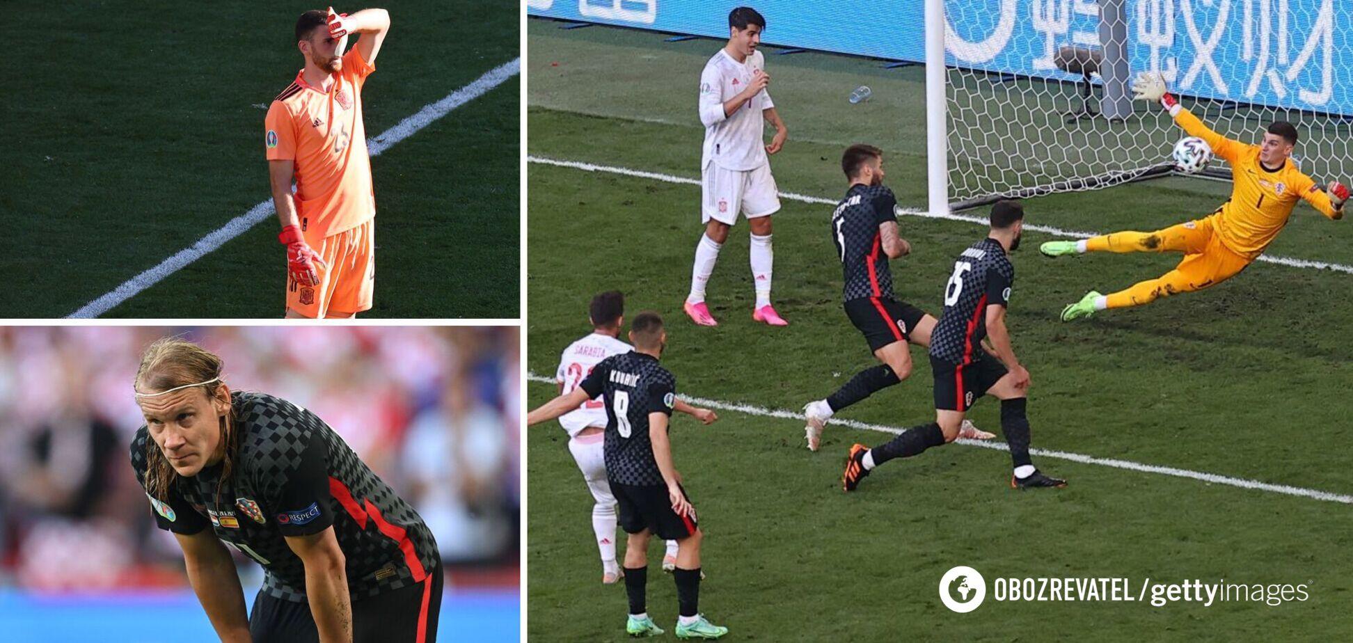 Хорваты и испанцы играют в 1/8 финала Евро-2020
