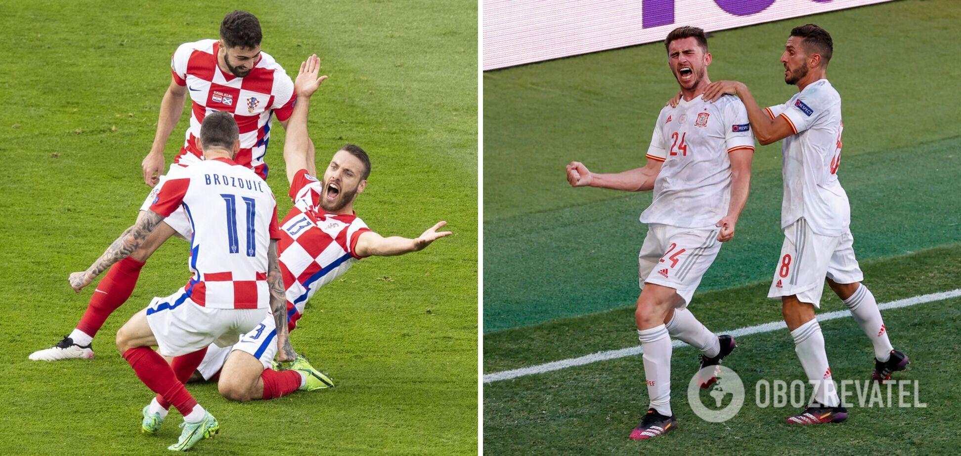 Хорватия Испания прогноз Евро 2020
