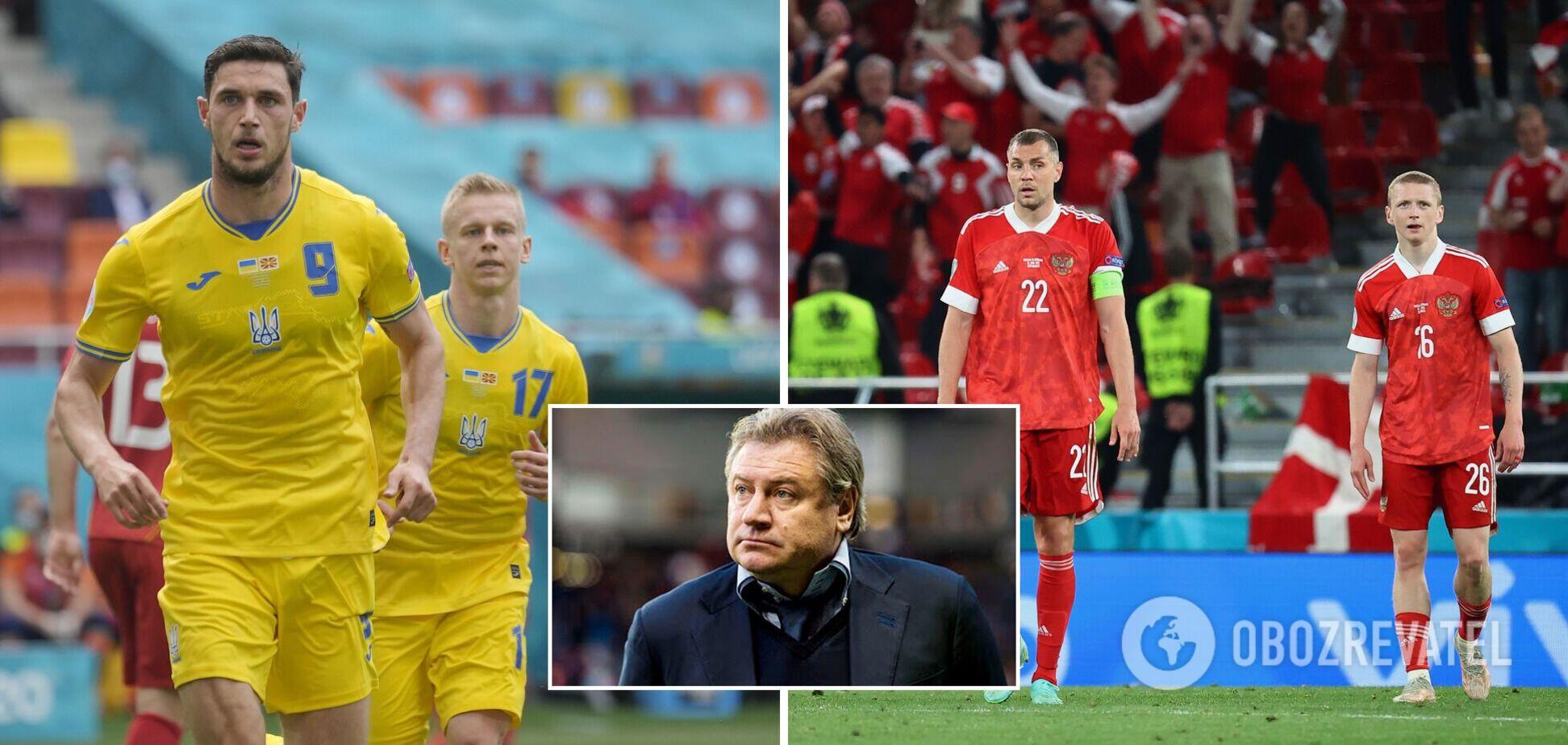 Андрей Канчельскис сравнил Украину и Россию