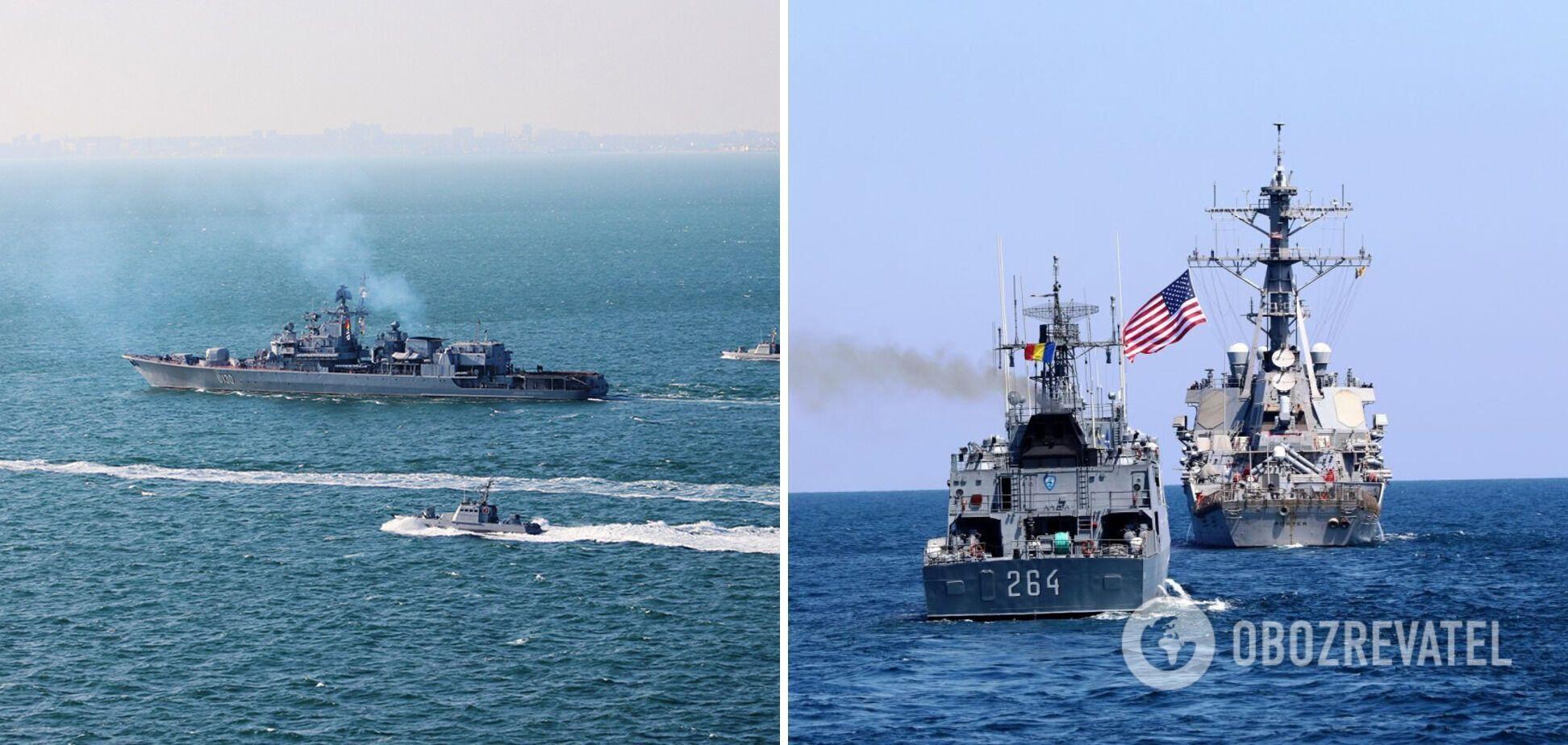 У Чорному морі розпочалися навчання Sea Breeze 2021: участь візьме рекордна кількість країн