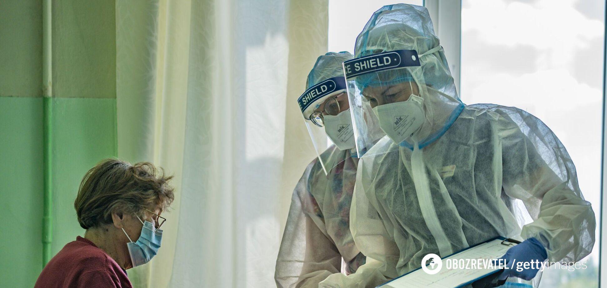 В Україні за добу виявили 285 нових випадків COVID-19, 384 особи потрапили до лікарень