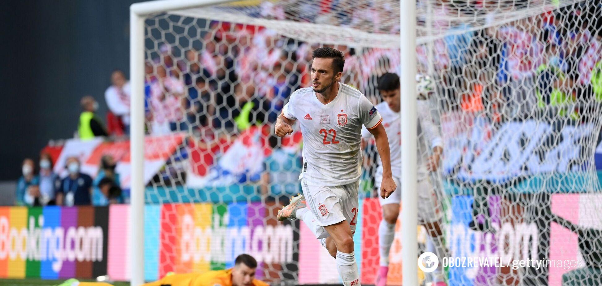 Испания – Хорватия: видео голов и обзор матча 1/8 финала Евро-2020
