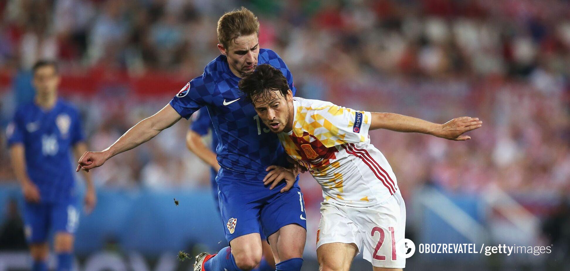 Испания Хорватия Евро 2016