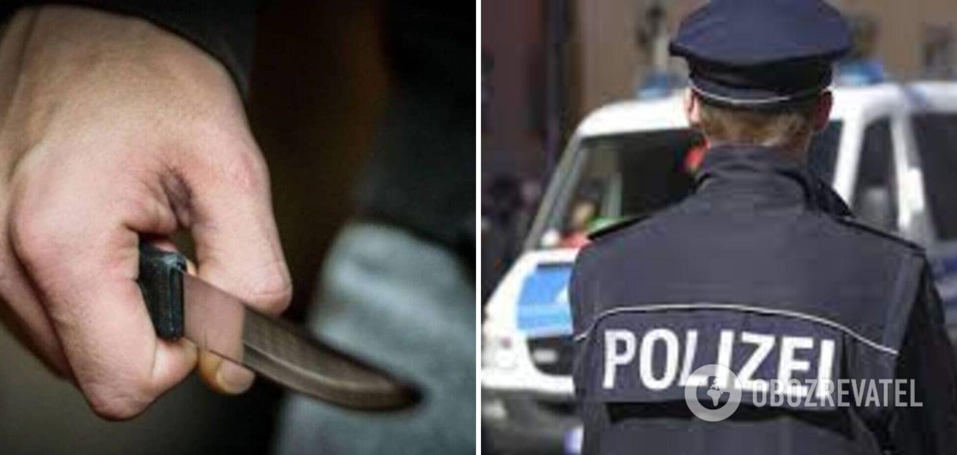 В Германии неизвестный напал с ножом на двух человек: оба в тяжелом состоянии