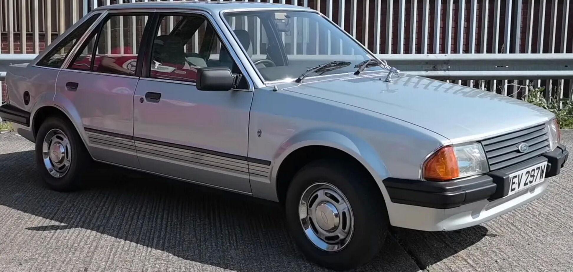 Ford Escort Ghia принцеси Діани продали за $65000. Відео