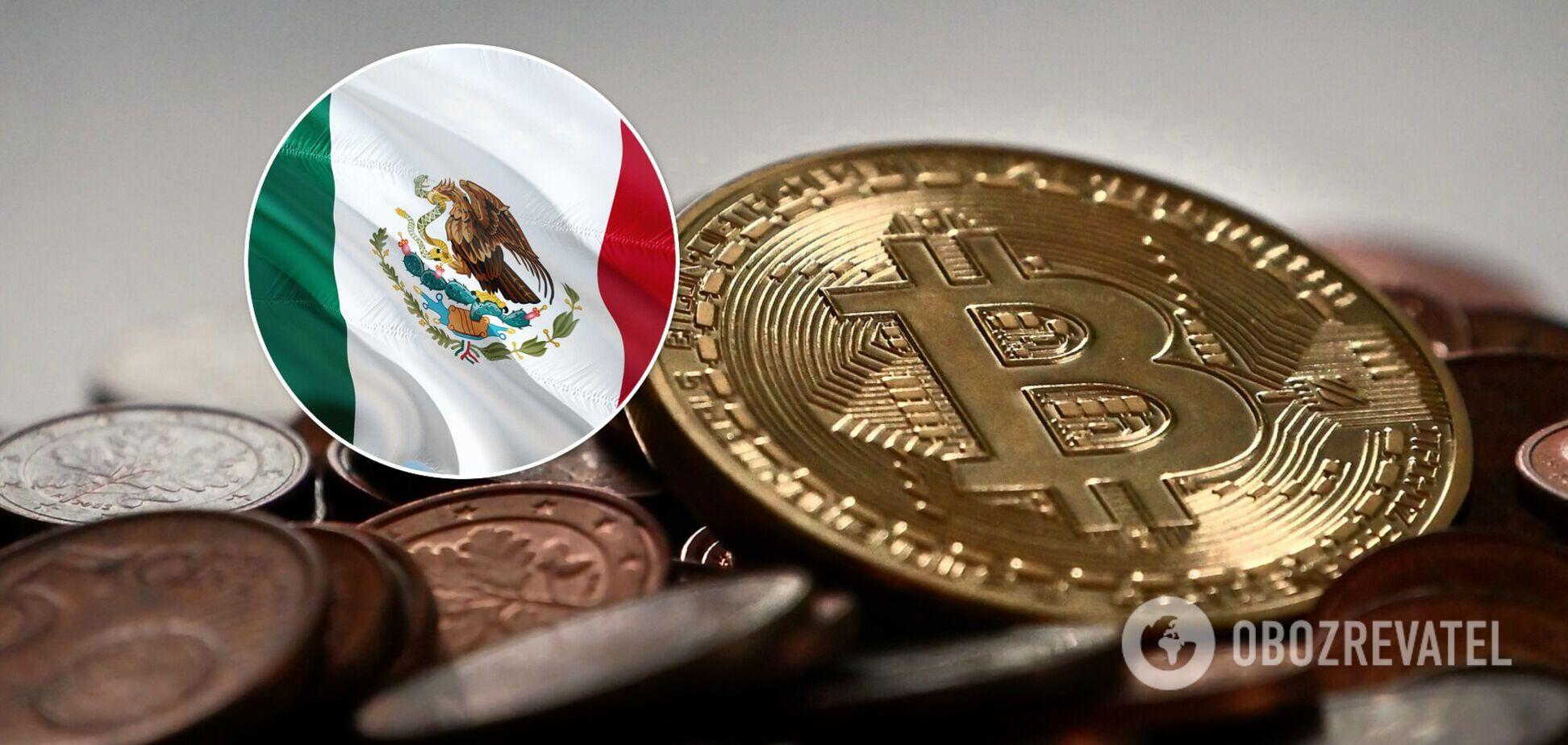 В Мексике будут вводить санкции против банковза использование биткоина