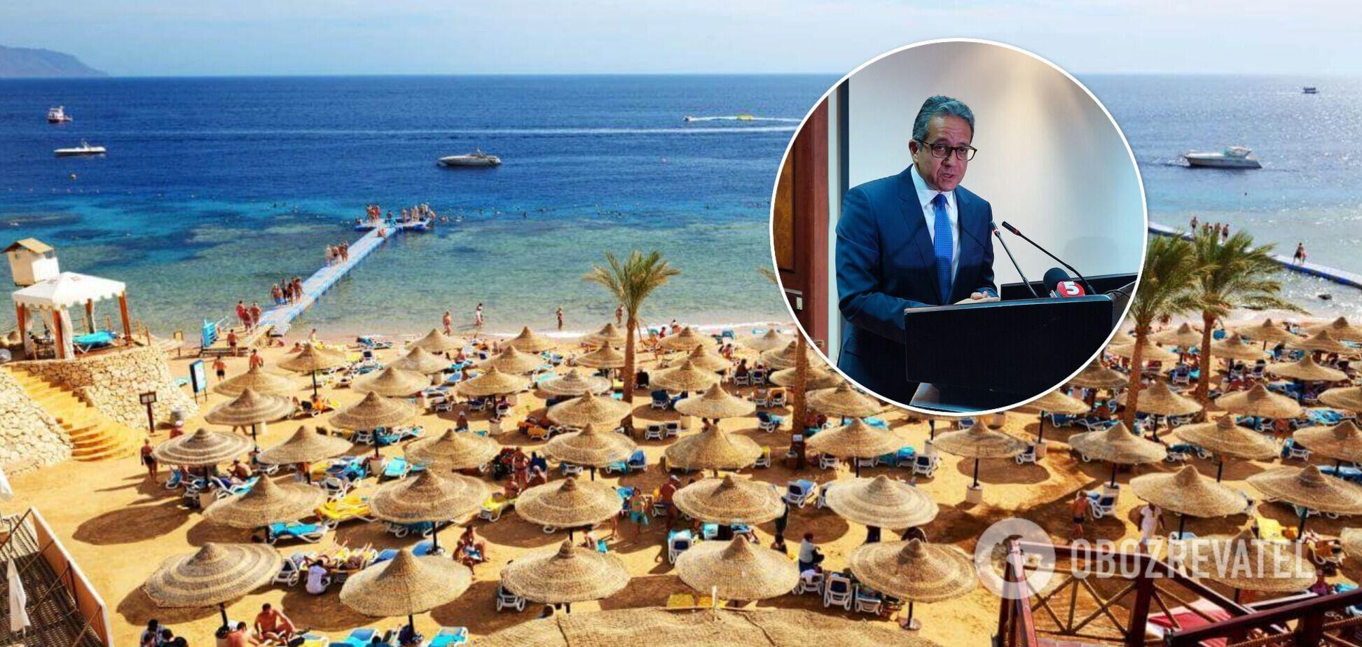 Украина – главный поставщик туристов в Египет, в отелях начнут говорить на украинском, – министр Халед эль-Энани