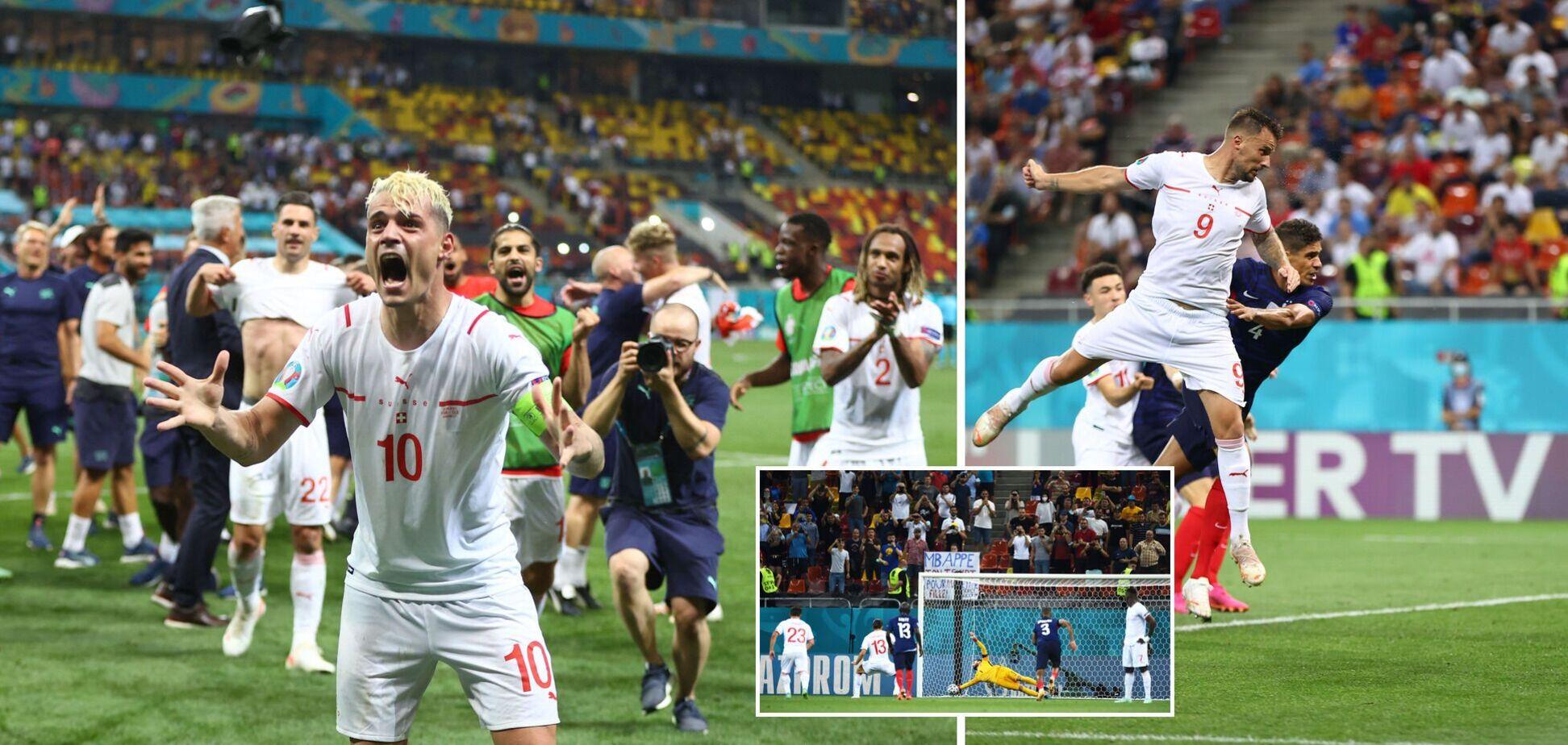 Франція по пенальті програла Швейцарії і вилетіла з Євро-2020. Сітка плей-оф, відео голів та статистика