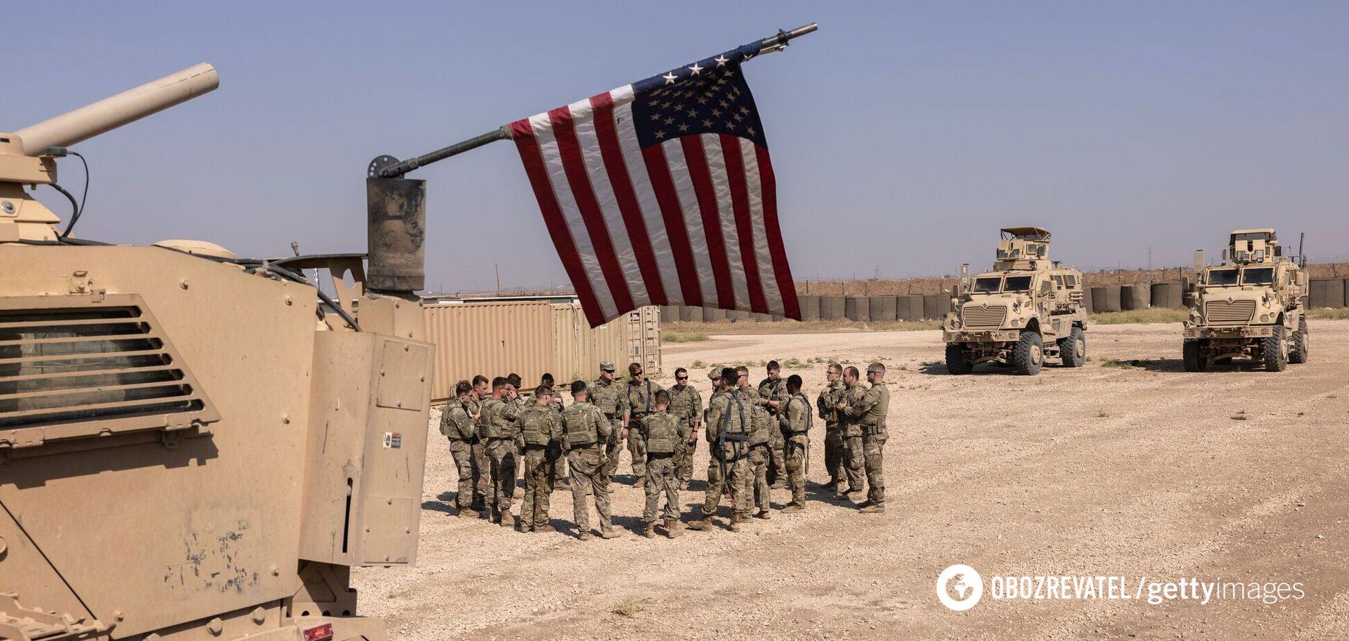 По американской военной базе в Сирии выпустили ракеты, военные США открыли огонь в ответ