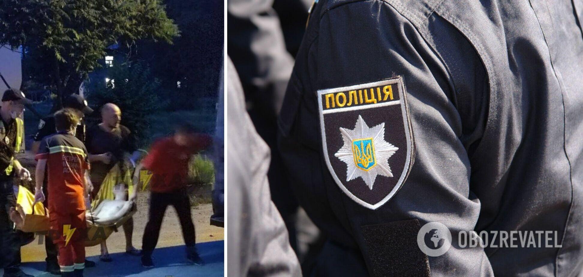 Избиение мужчины в Харькове