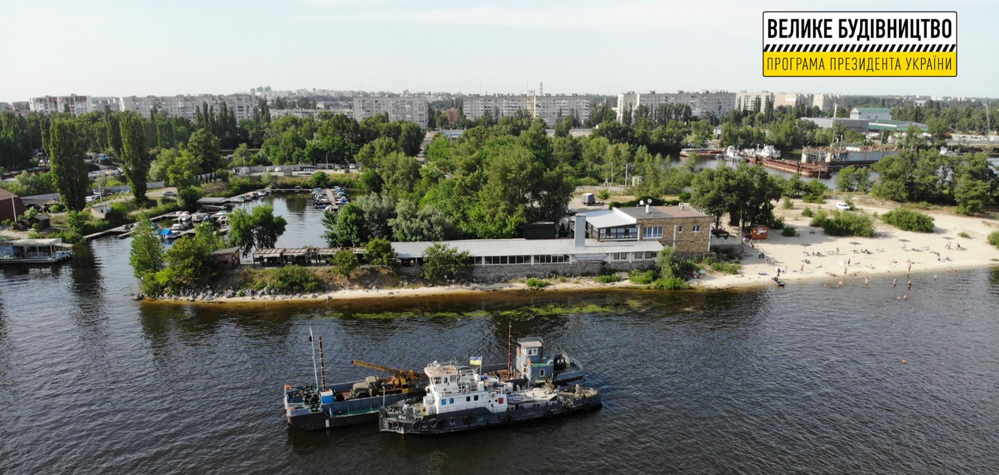 У Кременчуці побудують новий міст через Дніпро