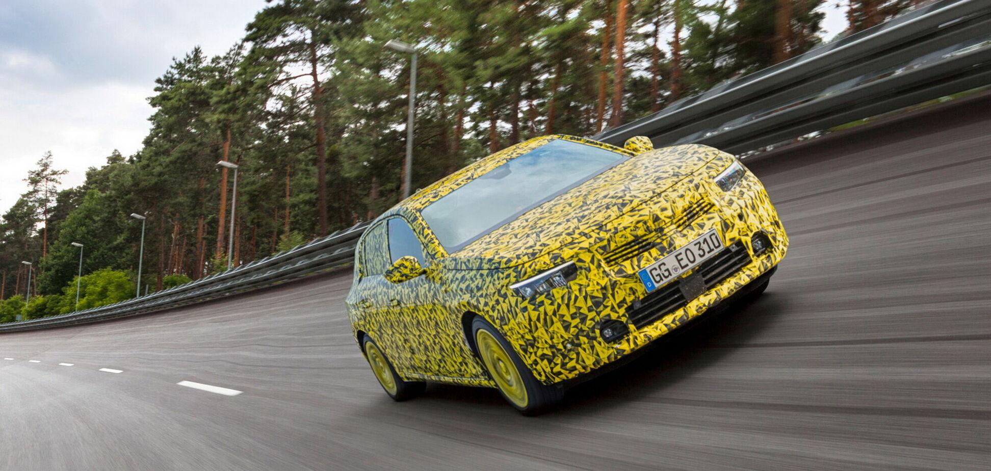 Opel проводить фінальні тести нового покоління моделі Astra