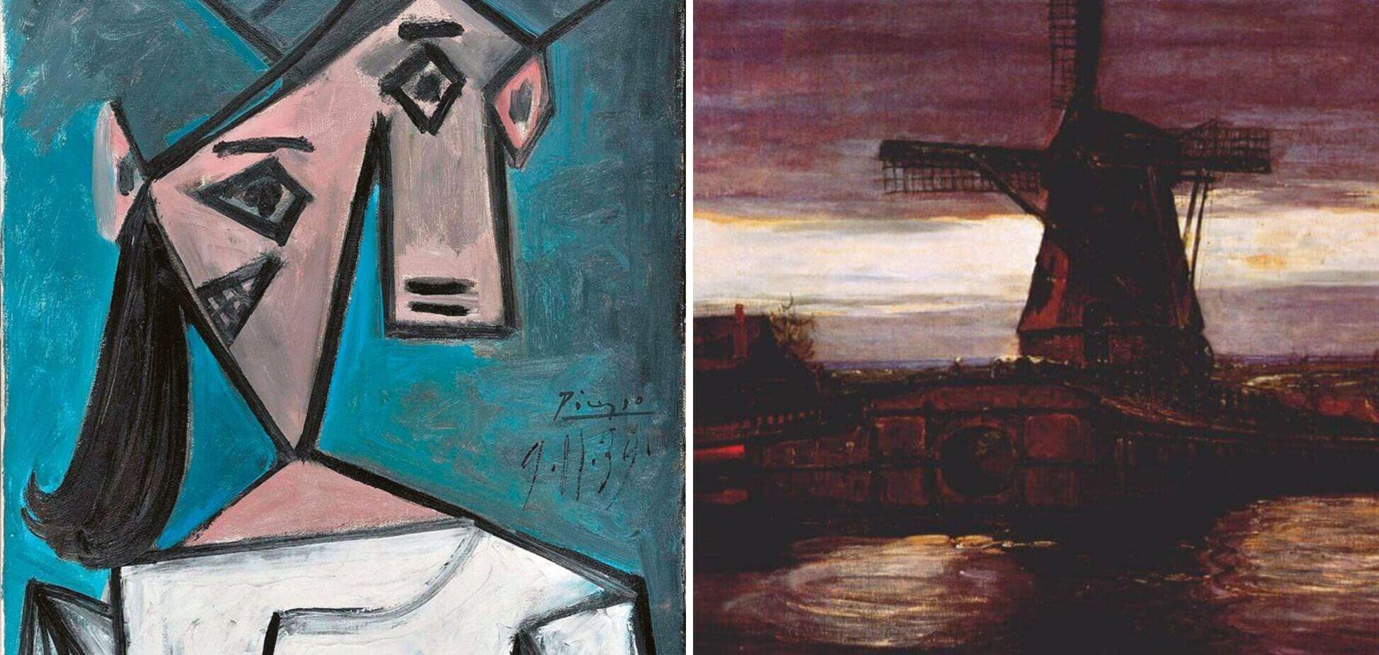 Через 9 лет нашли картины Пикассо и Мондриана, которые были украдены в Афинах