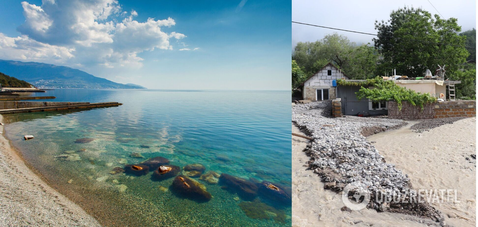 Пляжі в Криму закрили після потопу