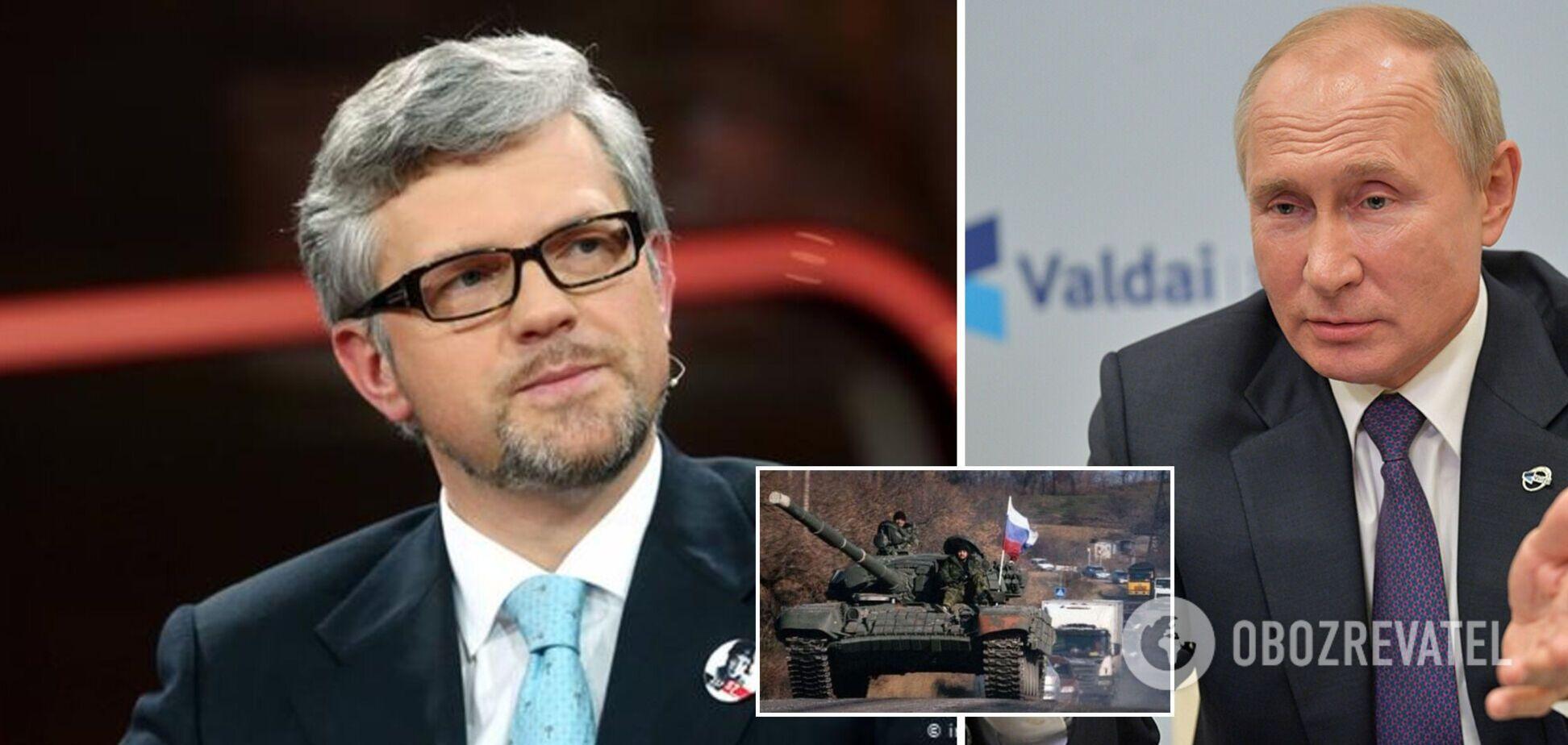 Посол Мельник про Путіна: він має на меті знищення України