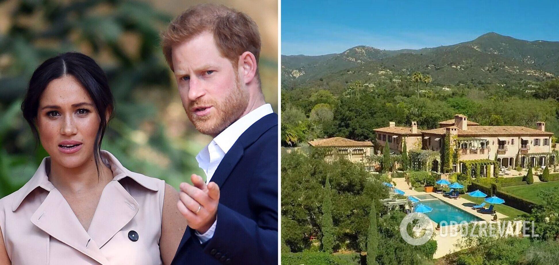 Біля маєтку принца Гаррі і Меган Маркл знайшли людські останки