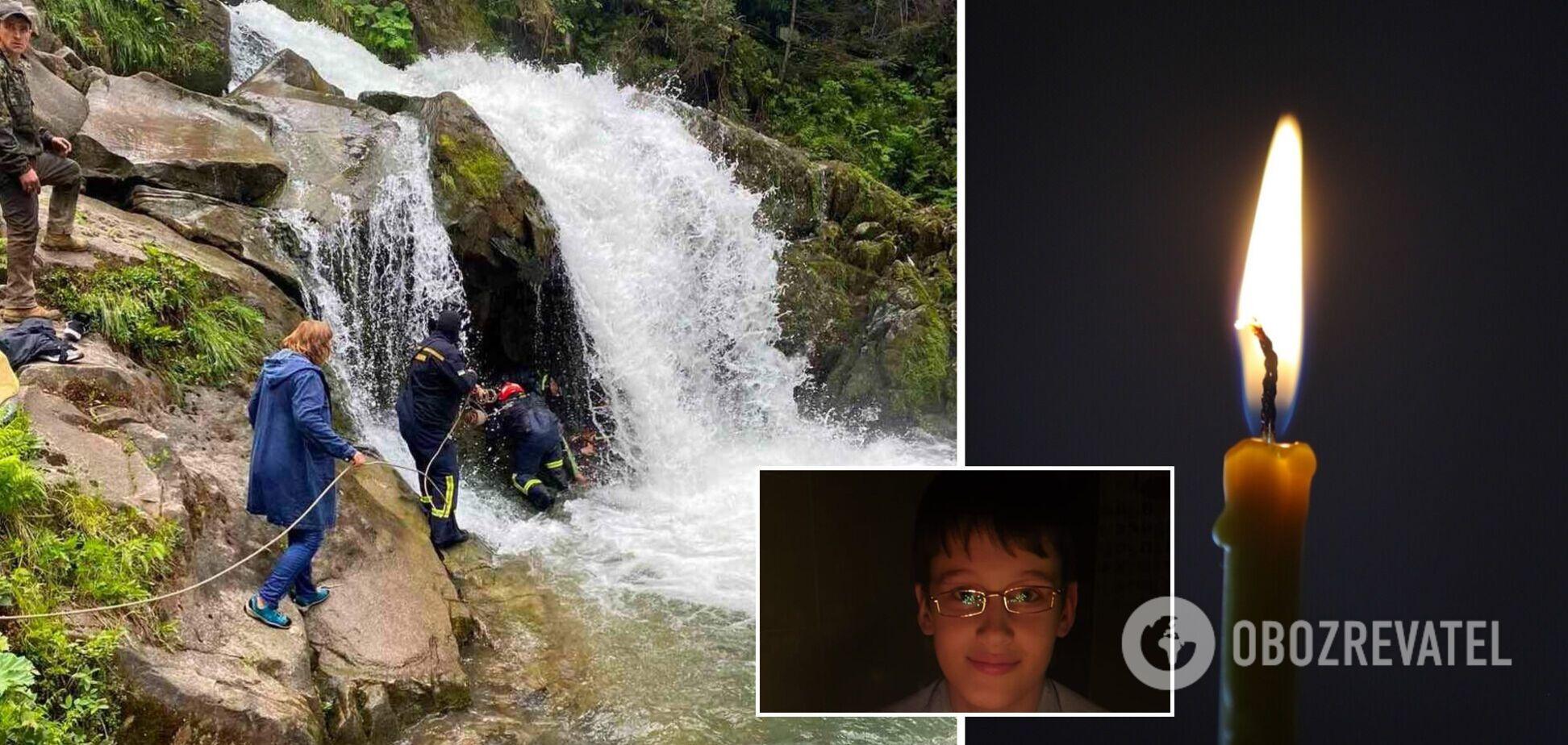 Школьник, который погиб в водопаде на Львовщине, накануне праздновал день рождения: последнее фото парня