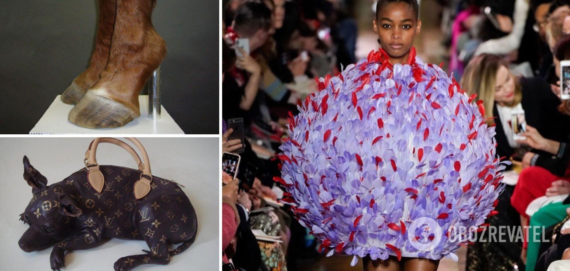 Деякі дизайнери створюють моторошні колекції одягу