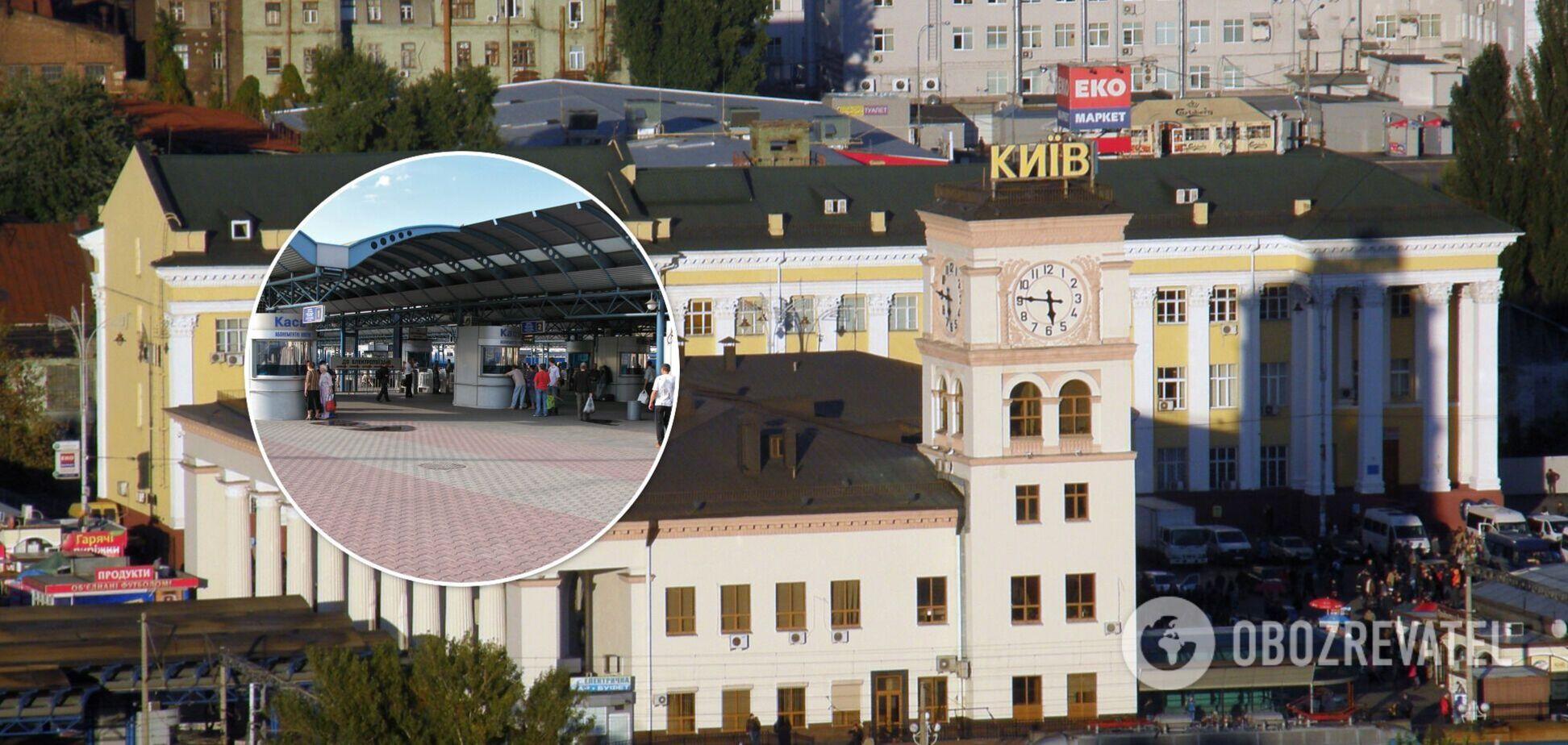 Служащего УЗ подозревают в растрате 750 тысяч гривен на ремонте Пригородного вокзала Киева