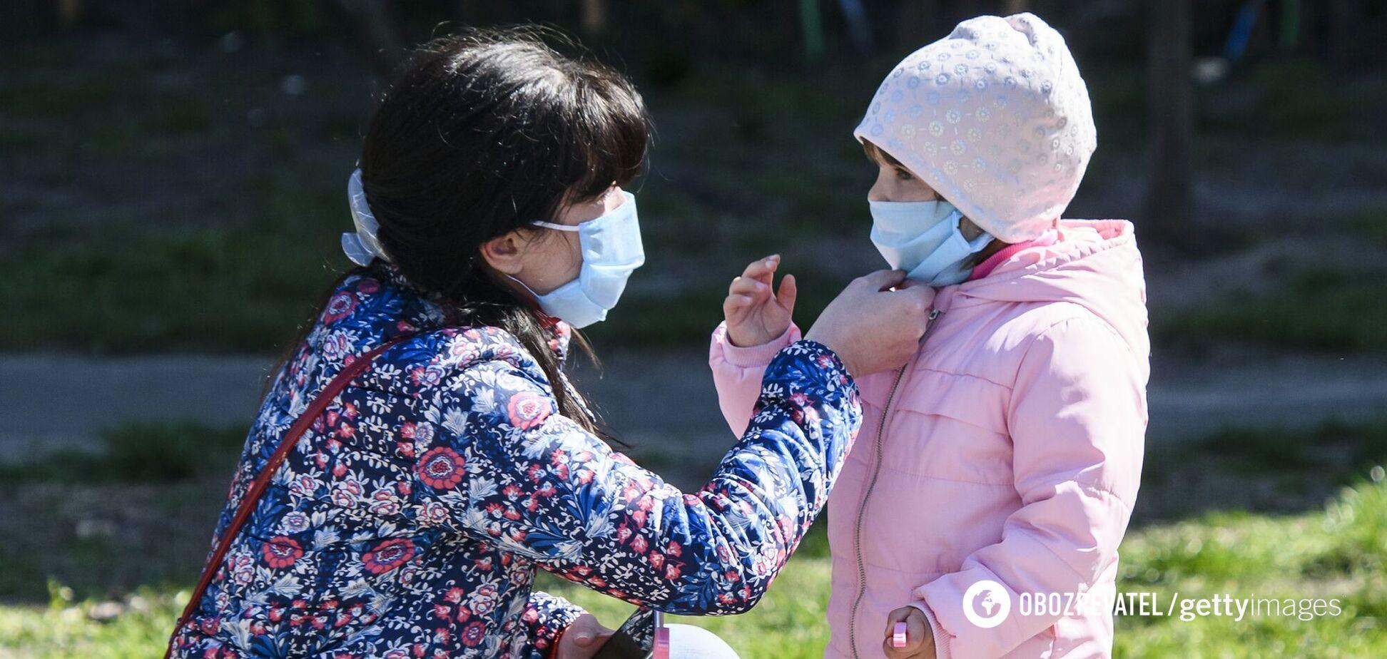 На Луганщине на 100% заняты все детские места в больницах из-за COVID-19: статистика