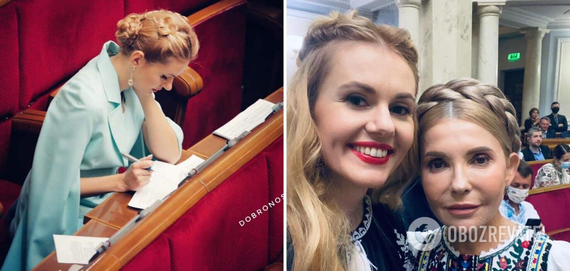 Скороход повторила зачіску Тимошенко