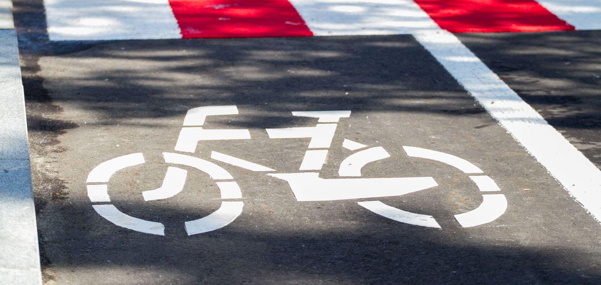 В Киеве в 2021 году для велосипедистов обустроят более 100 километров дорог