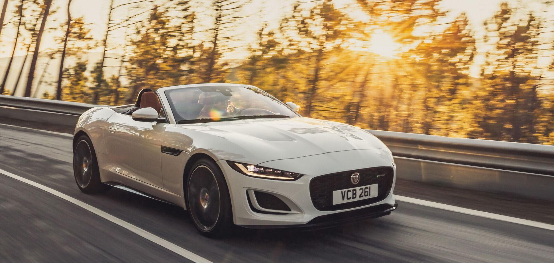 Jaguar підготував нові версії спорткара F-Type