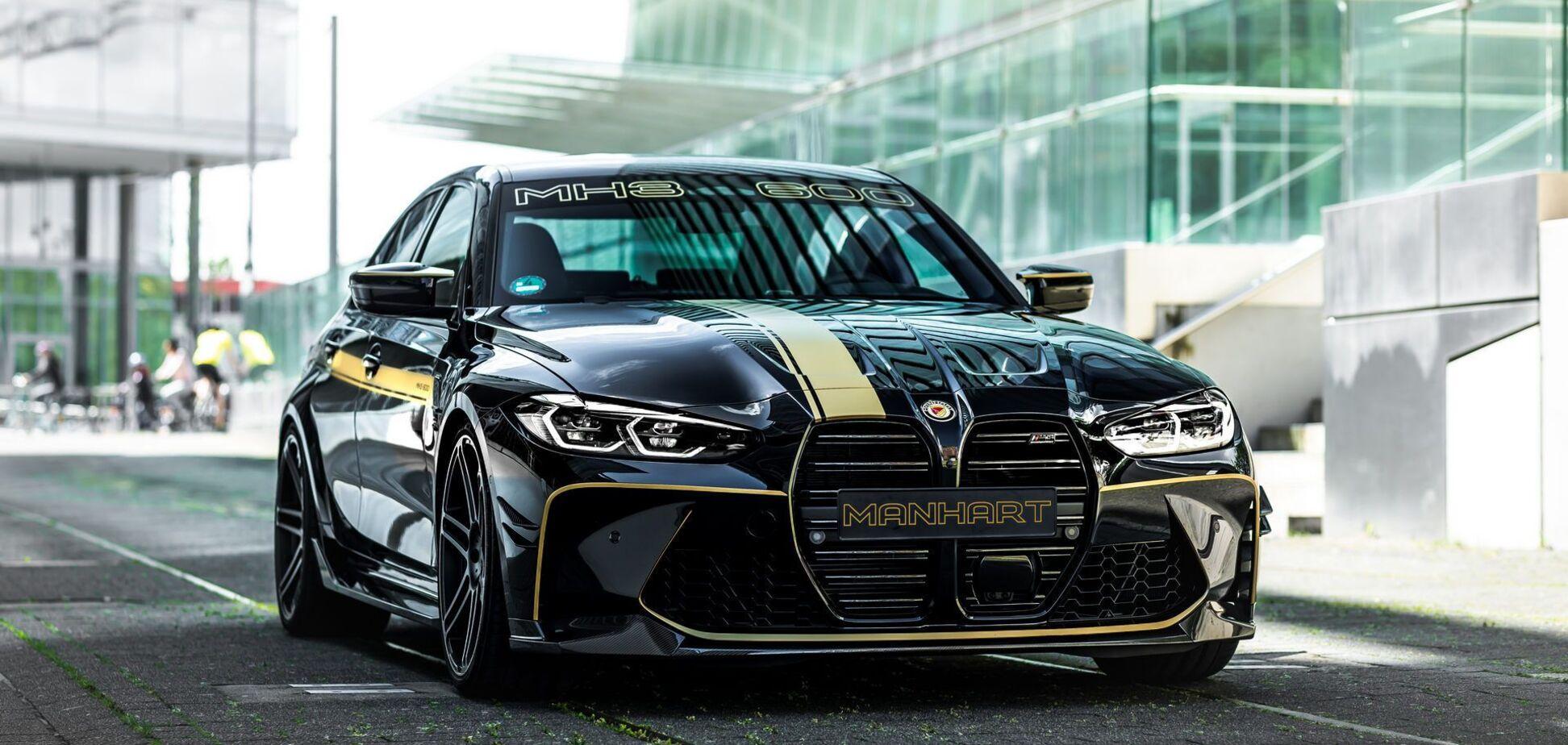 Manhart Performance показав свій варіант BMW M3 Competition